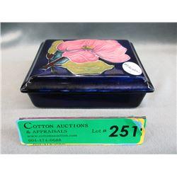 Moorcroft Pink Magnolia Trinket Box