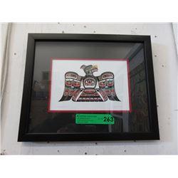 Framed Richard Shorty Print - Thunderbird