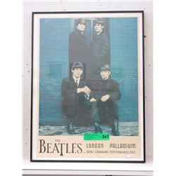 """1963 """"The Beatles"""" Poster"""