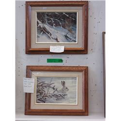 Pair of Framed Robert Bateman Prints