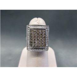 10KT White Gold 1.59 CTW Diamond Ring