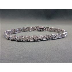 Ladies Diamond-set Tennis Bracelet