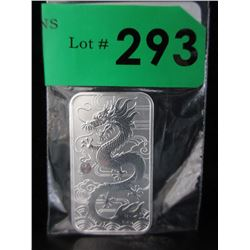1 Oz. Perth Mint .9999 Silver Dragon Coin