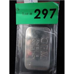 1 Oz. Ohio Precious Metals .9995 Silver Bar
