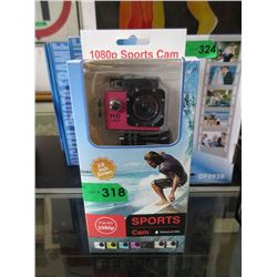 "New 1080p Sports Cam with 2"" Screen"