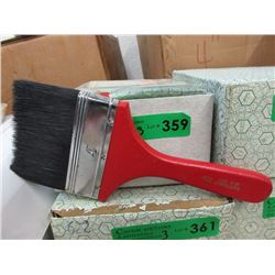 "3 Dozen New 4"" Pure Bristle Paint Brushes"