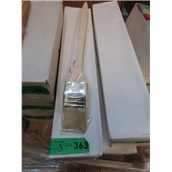 "3 Dozen New Long Handled 2"" Angled Paint Brushes"