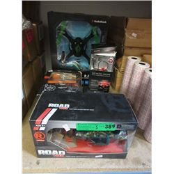 5 R/C Toys - Open Box