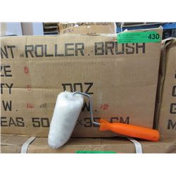 "Case of New 5"" Paint Rollers with Handles"