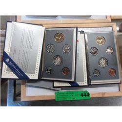 2 Canadian Mint Specimen Coin Sets - 1990 & 1991