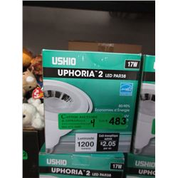 4 New 17 Watt LED PAR38 Flood Light Bulbs