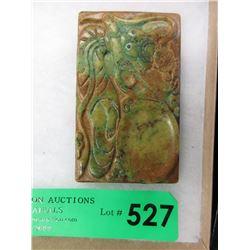 Hand Carved Jade Inker - Goddess Design