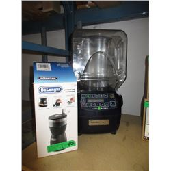 DeLonghi Bean Grinder & Commercial Blender