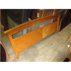 New King Size Wood Footboard