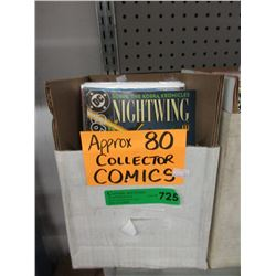 Approximately 80 Assorted Comics