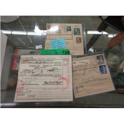 Three 1940s Nazi Germany Documents