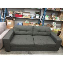 "New 80"" Grey Fabric Sofa"