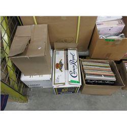 4 Boxes of Vintage LP Records