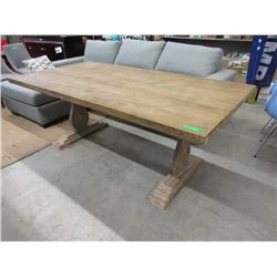 New LH Imports Trestle Table