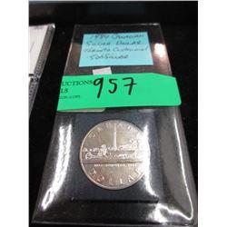 1984 Canadian Silver Dollar Coin - .500 Silver