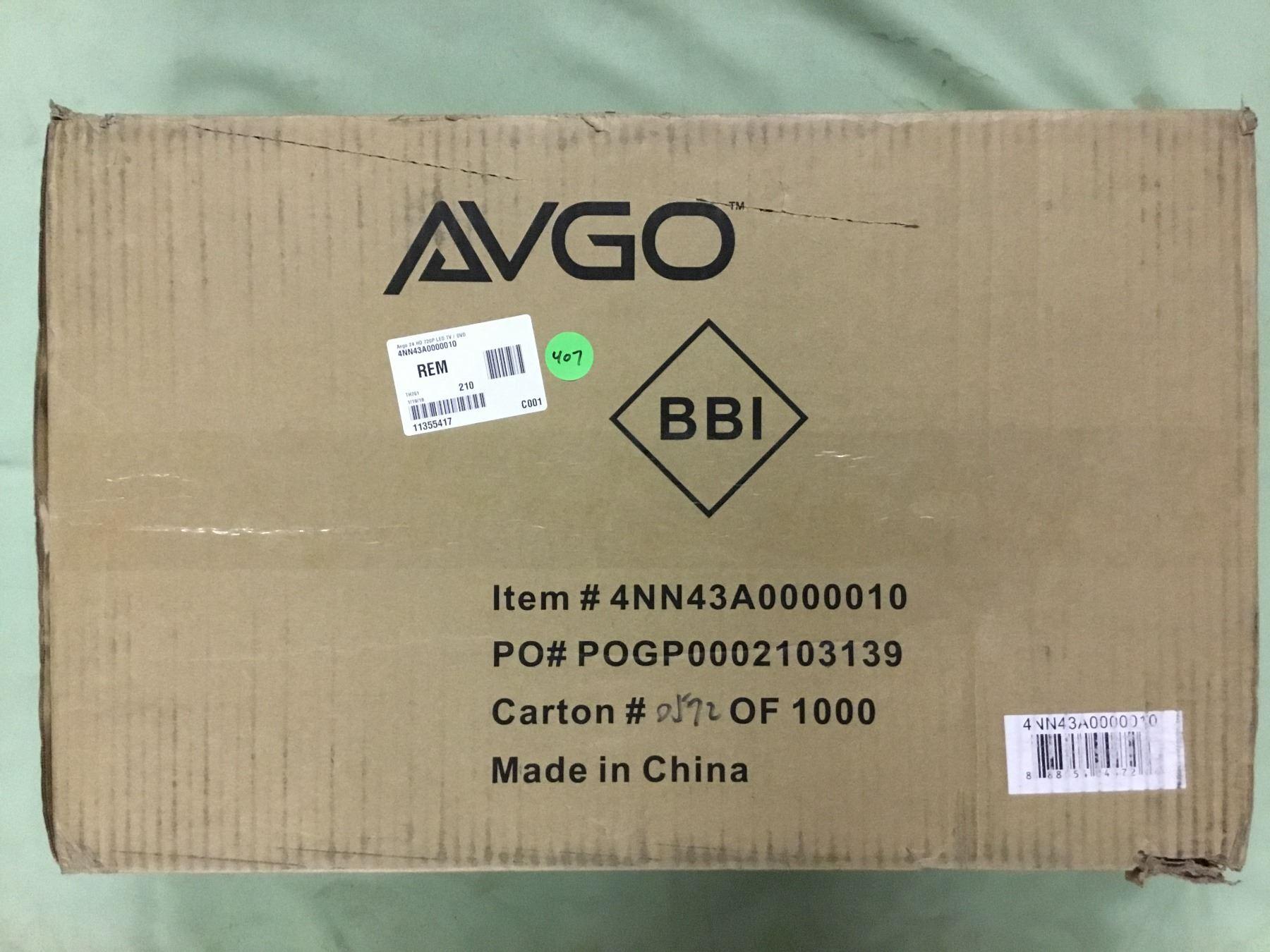 Who makes avgo tvs   AVGO Trademark Application of Bluestem