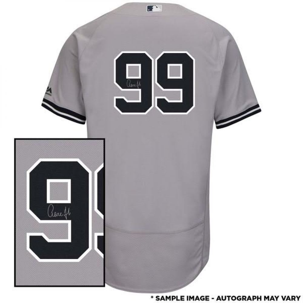39f272a38 Image 1   Aaron Judge Signed Authentic Yankees Jersey (Fanatics Hologram)