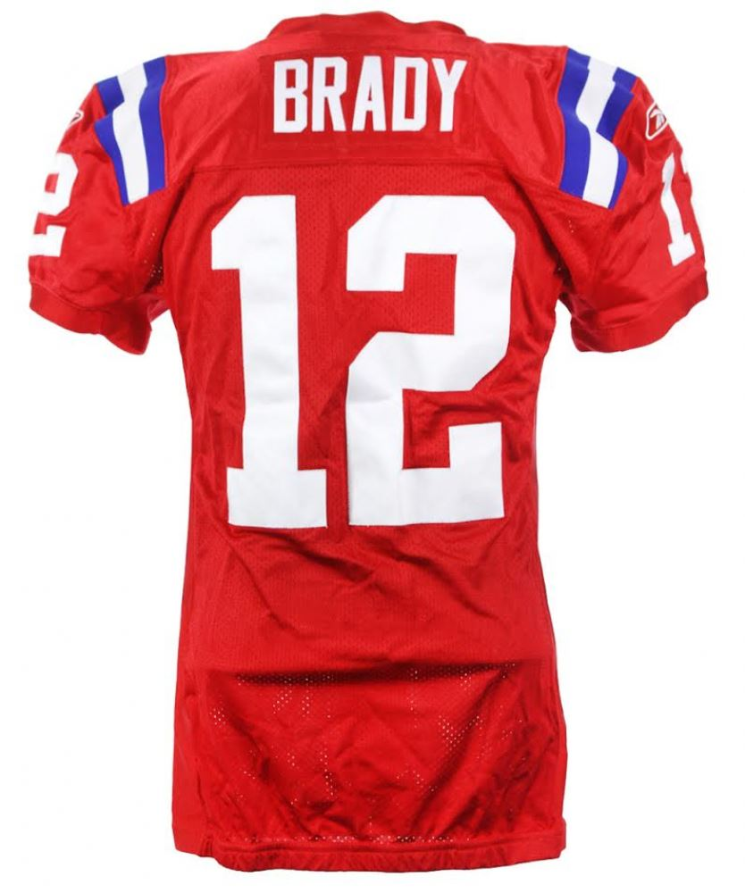 cheap for discount d9118 c9ec3 Tom Brady 2009 Game-Used Patriots Jersey (Mears LOA)