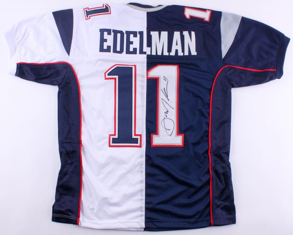 edelman signed jersey