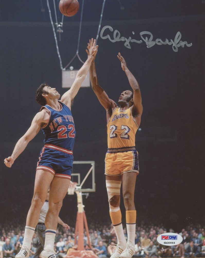 2c97e0714061 Image 1   Elgin Baylor Signed Lakers 8x10 Photo (PSA COA)