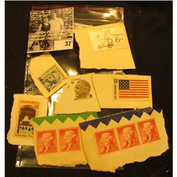 Bag of (10) uncancelled Stamps