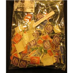 Bag of Great Britain Stamps.