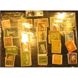 Nice selection of Mint, Unused Stamps from Canada, Colombia, Bulgaria, Cuba, Finland, and more.