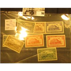 Nice selection of Mint, Unused Stamps from Costa Rica.