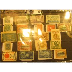 Nice selection of Mint, Unused Stamps from the United States & a few other countries, including Sier