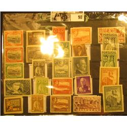 Nice selection of Mint, Unused Foreign Stamps including a German Hitler Stamp, Russian, Portugal, Sa