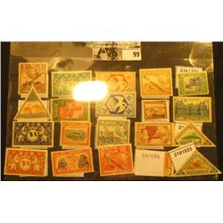 Nice selection of Mint, Unused Foreign Stamps including Mozambique, Malta, & Luxembourgh and more.