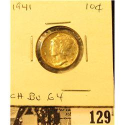 1941 P Mercury Dime Choice BU 64.