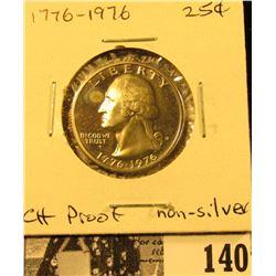 1776-1976 S Clad Proof U.S. Washington Quarter.