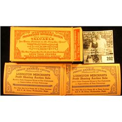 "1930 era Original Box full of ""Worthmore Progressive Dividend System""Coupons, seen rarely as individ"