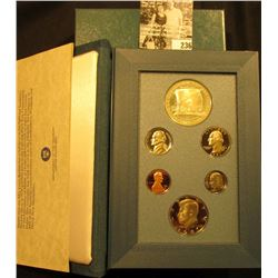 1987 S U.S. Silver Prestige Proof Set in original box as issued.