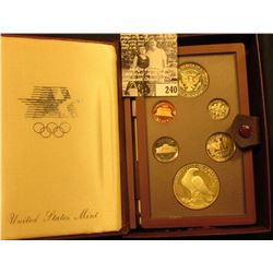1984 S U.S. Silver Prestige Proof Set in original box as issued.