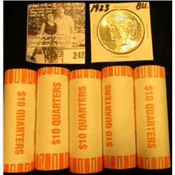 (3) Original BU Bank-wrapped Rolls of 2003 D Arkansas, 2002 D Mississippi, & 2003 D Illinois Stateho