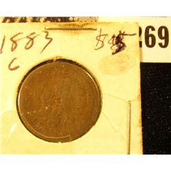 1883 Indian Cent, Good.