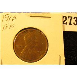1910 P U.S. Wheat back Cent, EF.