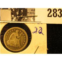 1853 U.S. Seated Liberty Half Dime, VG.