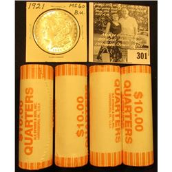 (4) 2005 D Solid Date Rolls of Gem BU Kansas Statehood Commemorative Quarters in bank-wrapped Rolls;