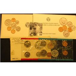 1968, 1989 & 1992 U.S. Mint Sets, all original as issued.
