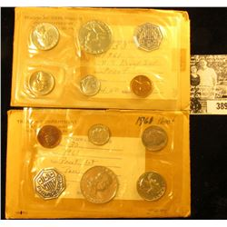 (2) 1961 U.S. Proof Sets in envelopes and original cellophane.
