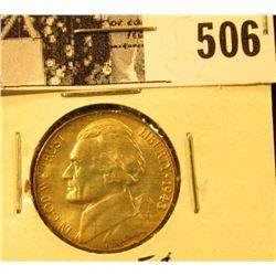 1943 P U.S. Silver War Nickel CH BU 63.
