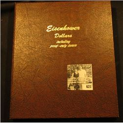1971-78 Complete Uncirculated & Proof Eisenhower Dollar Set in a World Coin Library Album. Includes